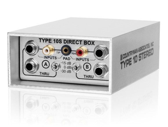 DI COUNTRYMAN Type10 STEREO - active direct box