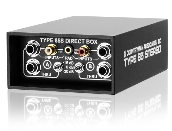 DI COUNTRYMAN Type85 STEREO - active direct box